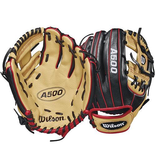 Wilson A500 Baseball Glove WTA05LB1811 LHT