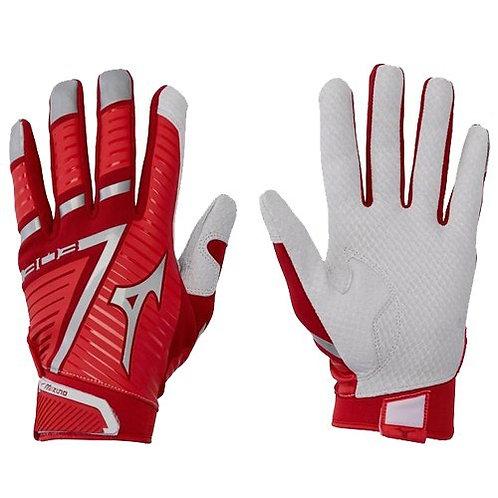 Mizuno 303 Batting Gloves Red