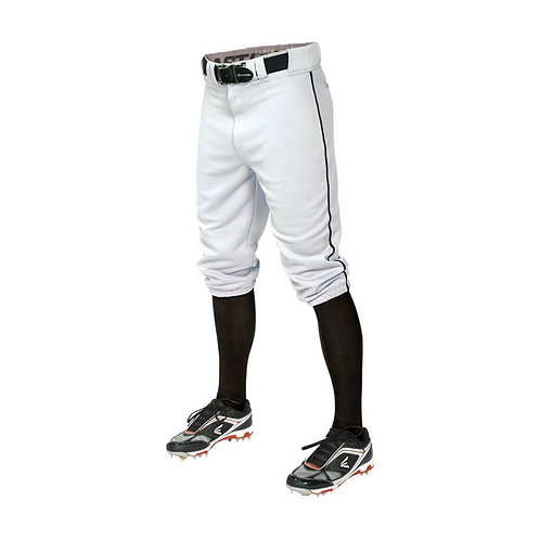 Easton Pro Knicker Pants White/Black Piping