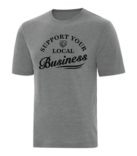 Support Local Business Shirt Grey