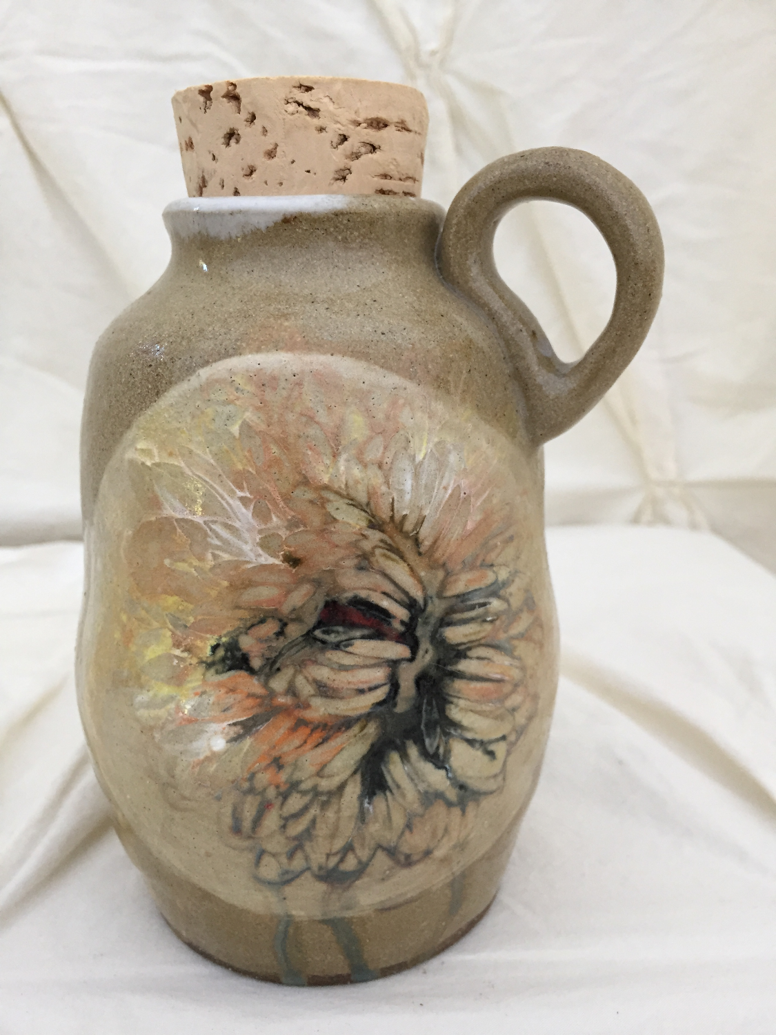 chrystanthemum bottle