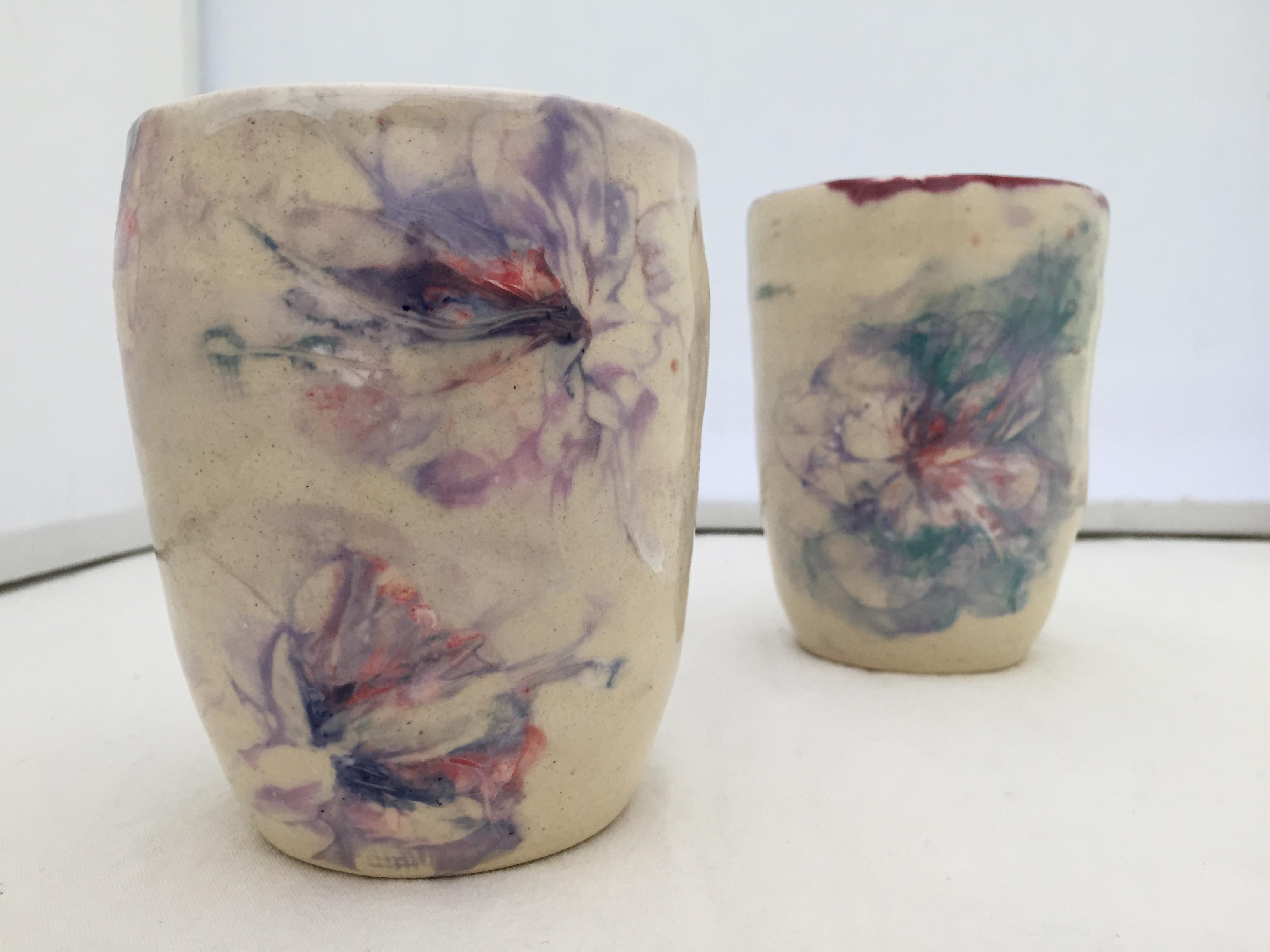 fuscia cups