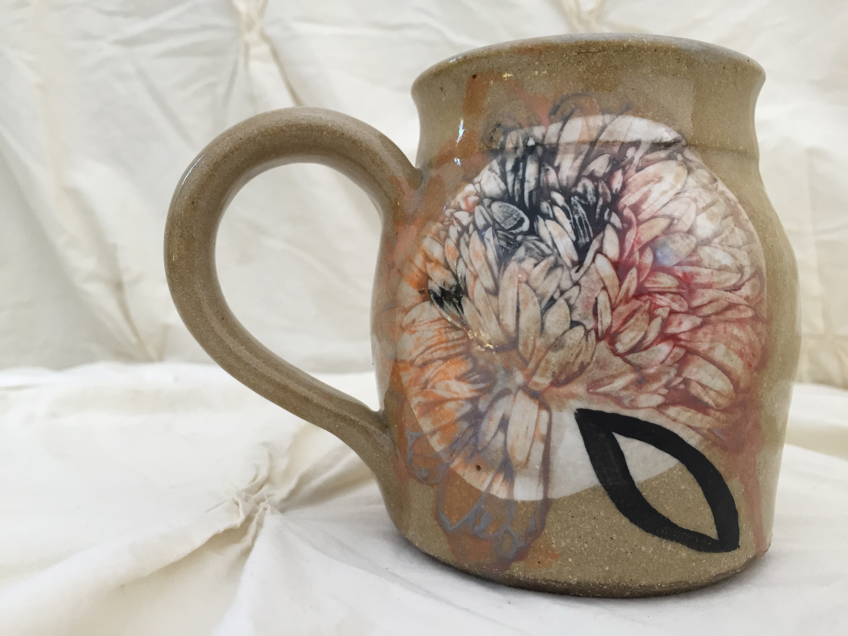chrystanthemum mug