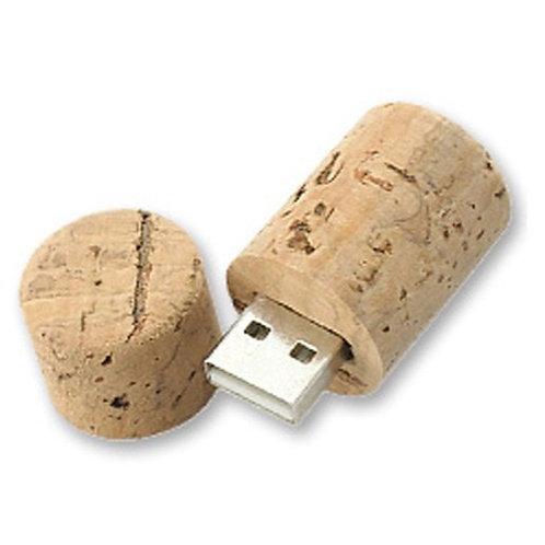 USB corcho tapón botella vino 4GB