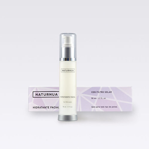 Hidratante facial con protección solar (Crema facial) - 50 ml.