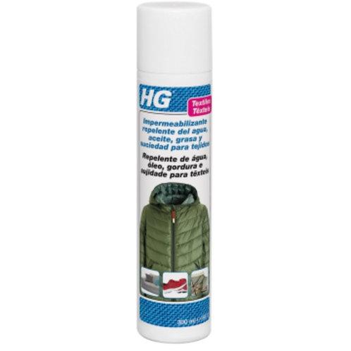Impermeabilizante repelente del agua, aceite, grasa y suciedad para tejidos