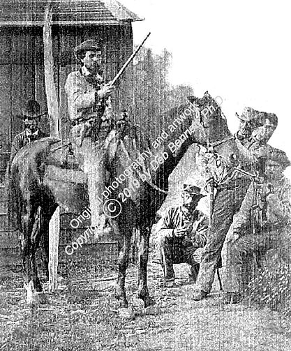 Confederate Anon trooper Missouri AFTER