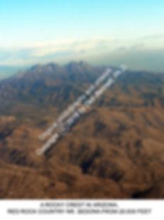 Arizona A Rocky Crest from air 2012 smw.