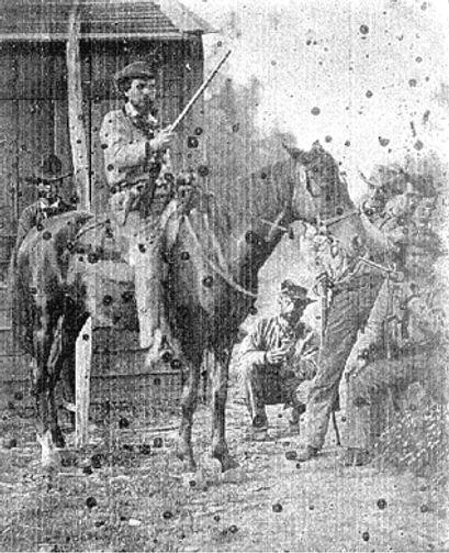 Confederate Anon trooper Missouri BEFORE