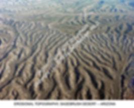 Arizona Desert Eroded Sandy Country Air