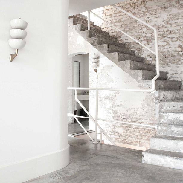 Anna Valentine Atelier stairs