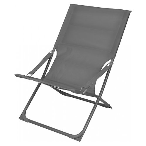 Ambiance strandstoel grijs