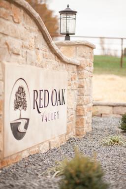 Red Oak Valley Entrance