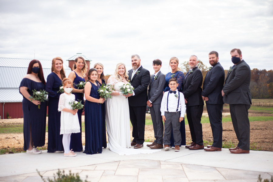 Bridal Party | Red Oak Valley | Owensville, MO