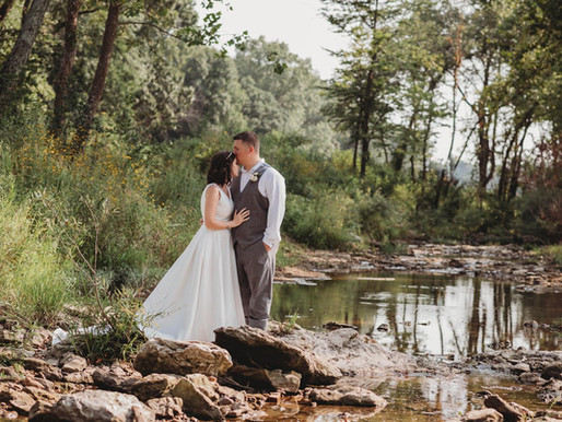 Stancie + Aaron's Outdoor Summer Wedding