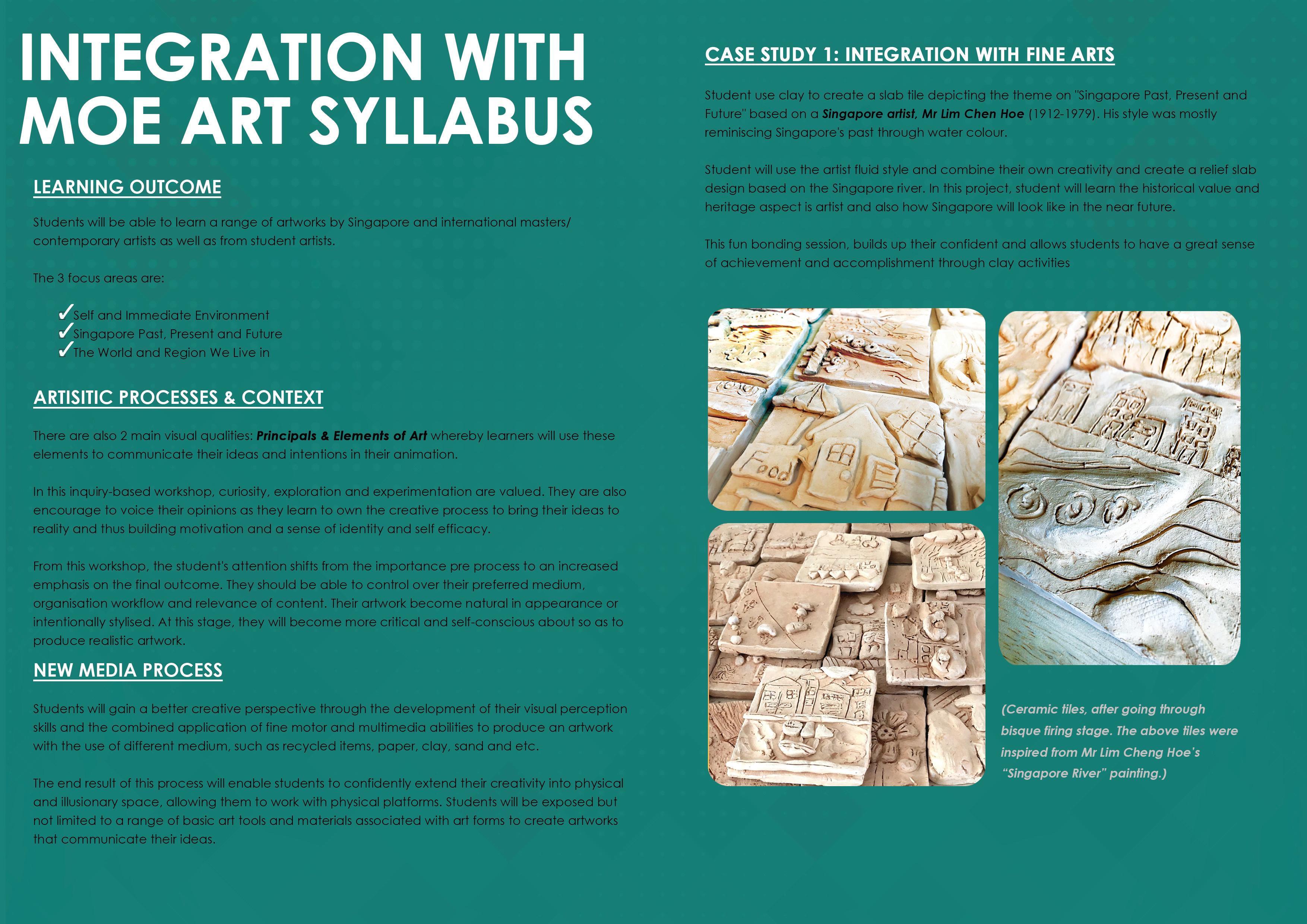 3 Integration with MOE Art Syllabus