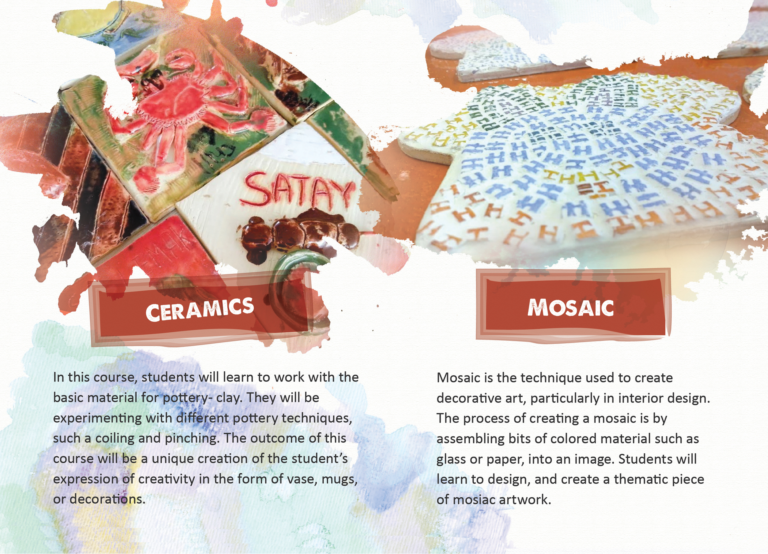 Ceramics and Mosaic
