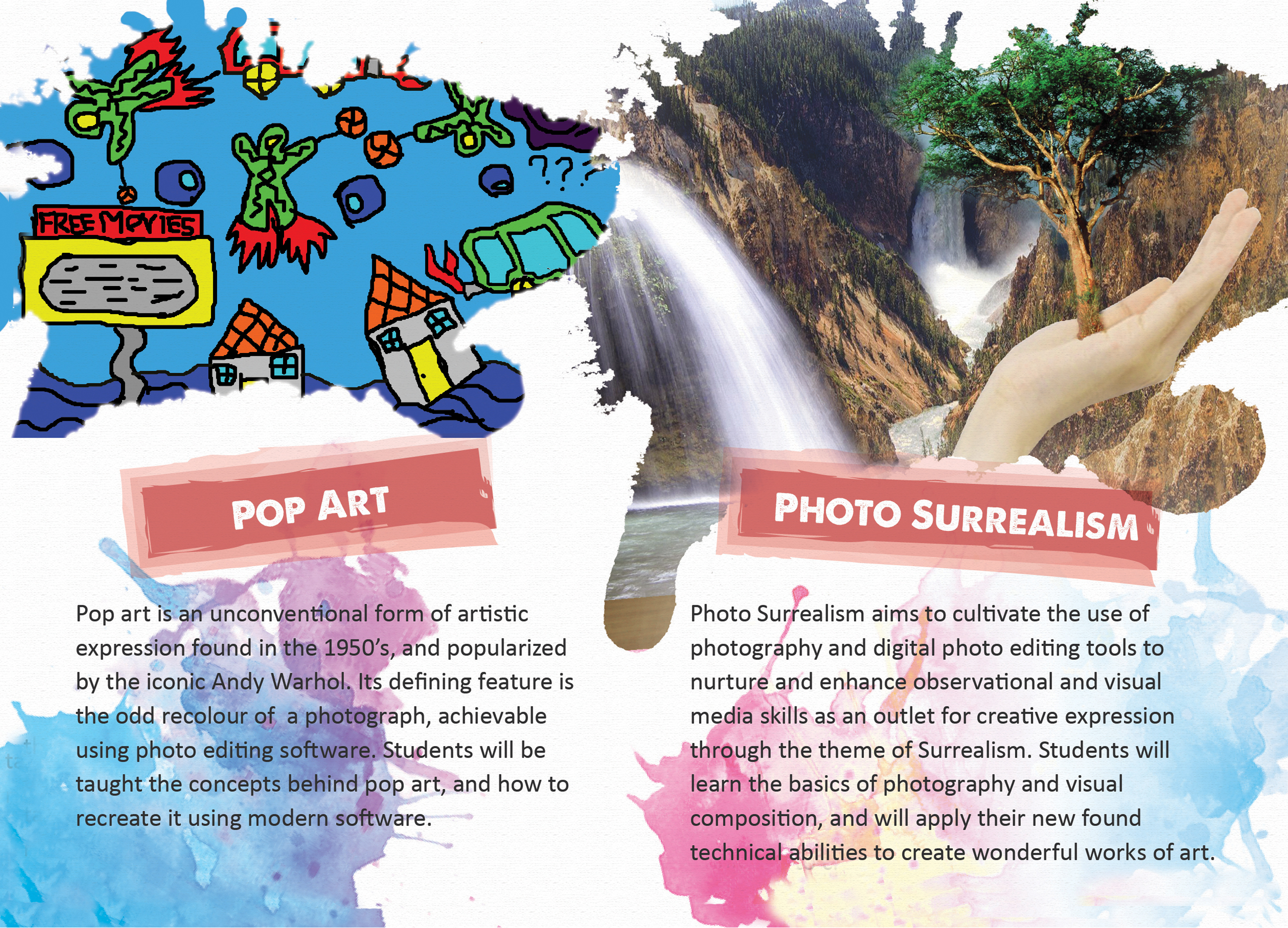 Pop Art and Photo Surreal