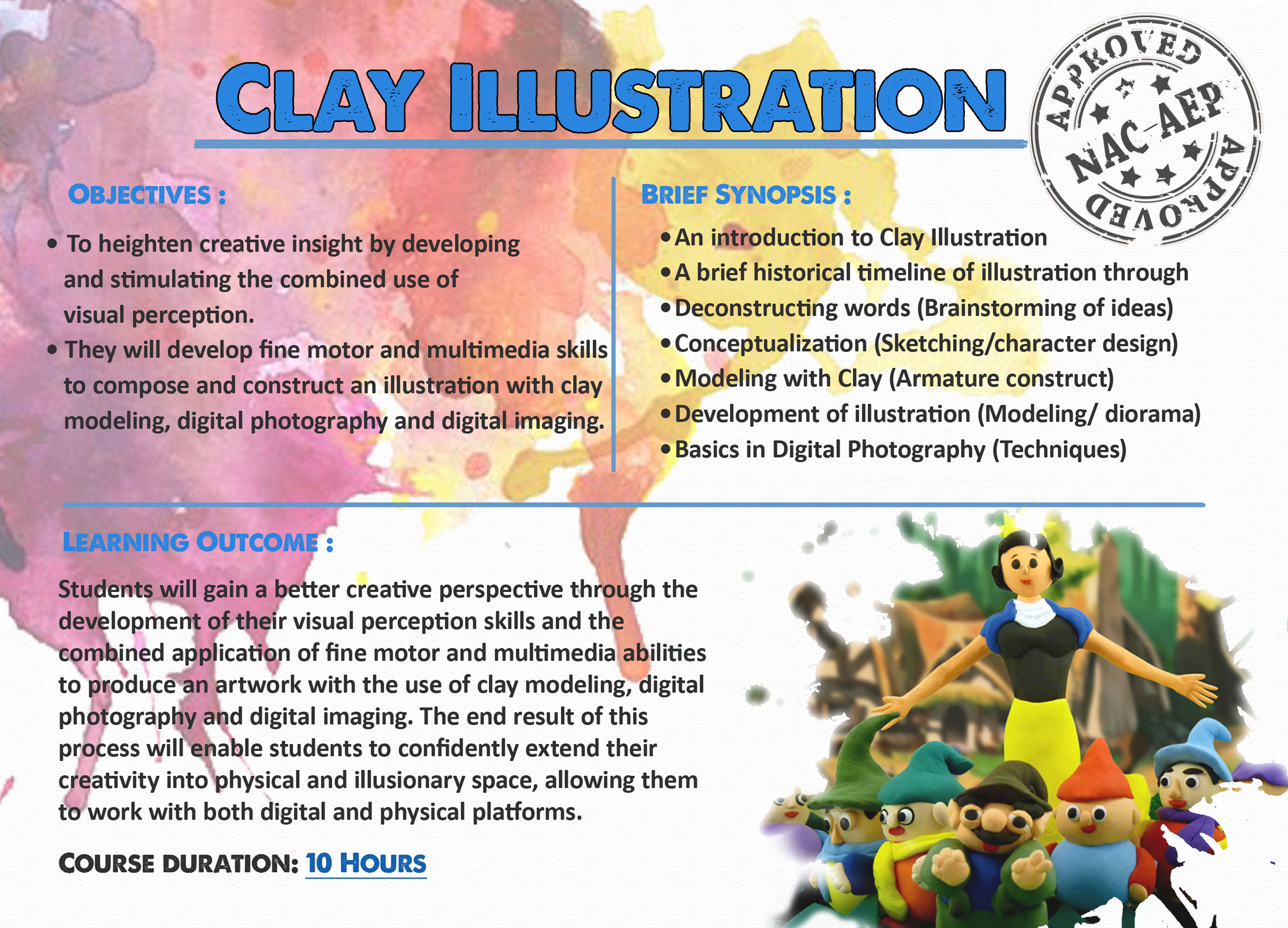 Clay Illustration