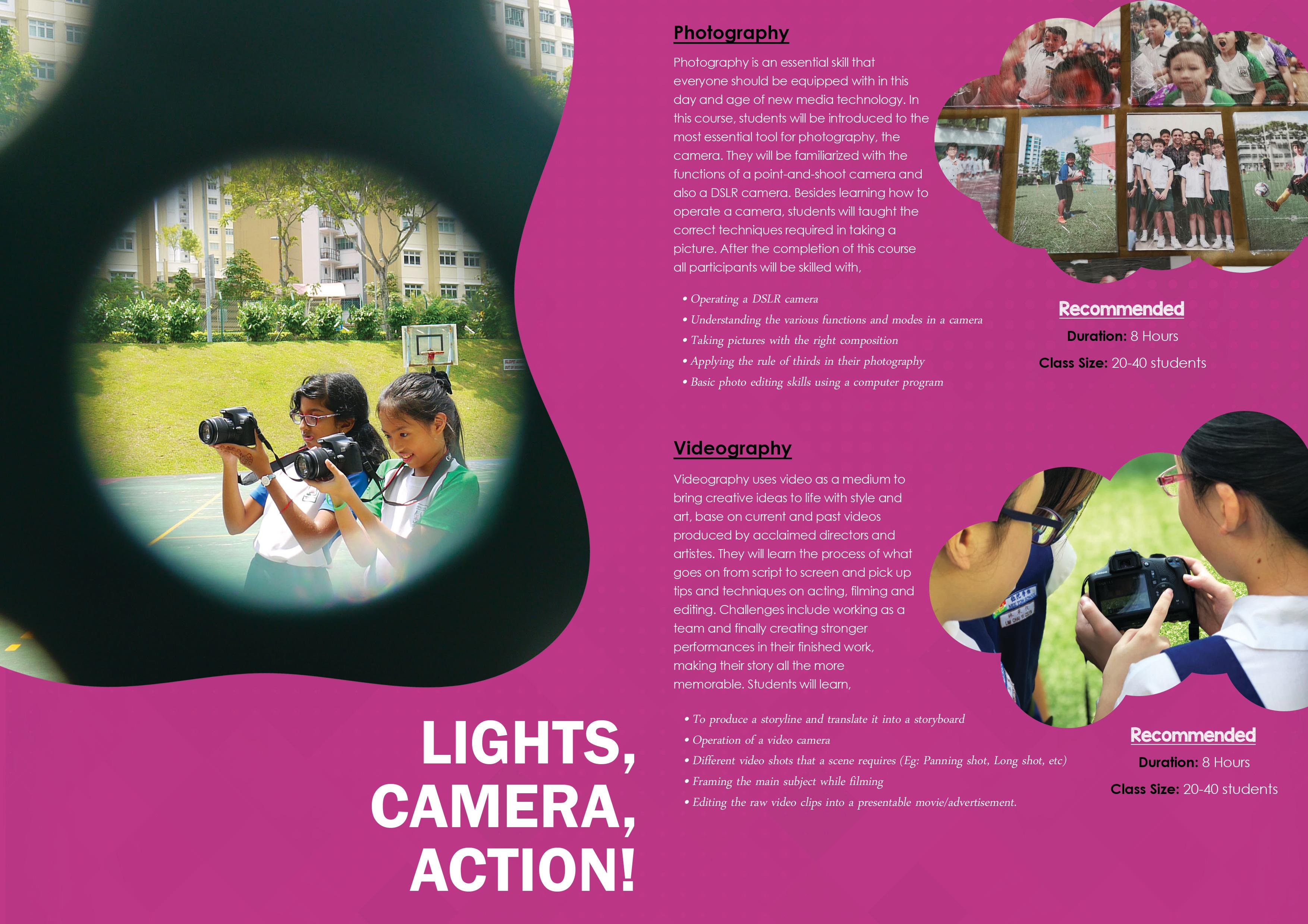 7 Lights Camera Action