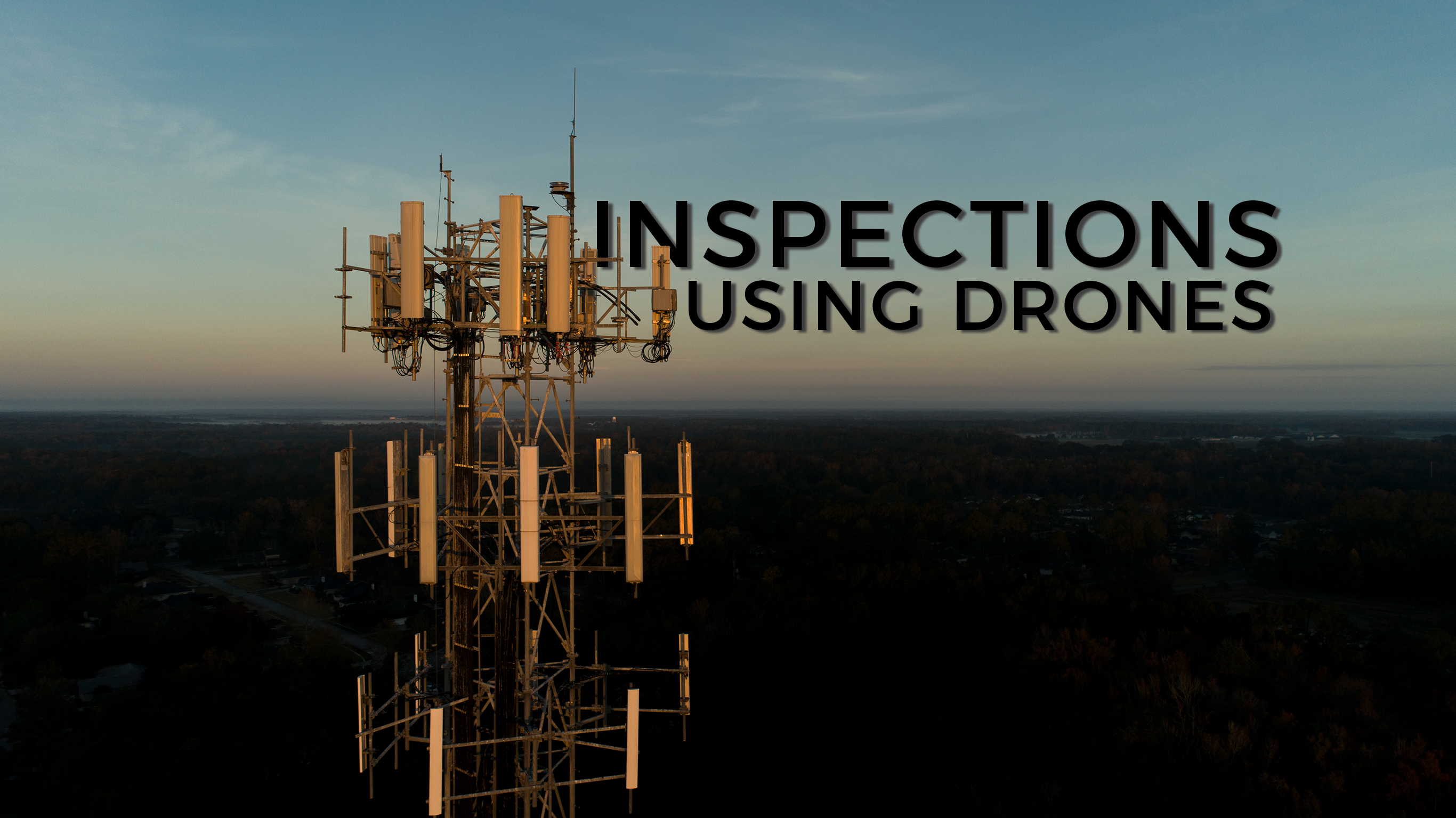 Industrial Inspections using drones.