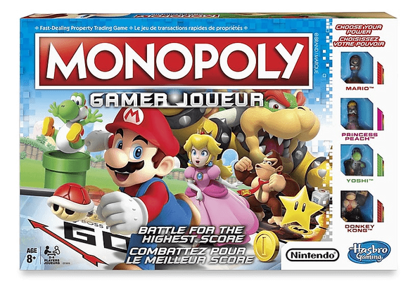 MONOPOLY GAMER - NINTENDO
