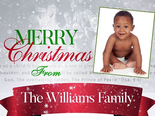 Merry Christmas - Greeting Cards