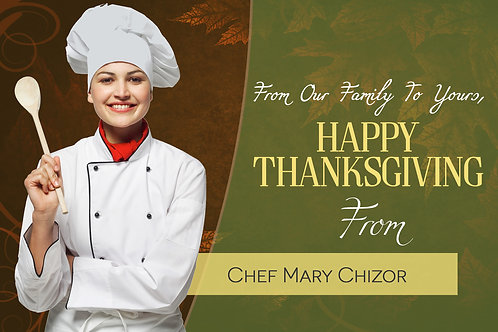 Happy Thanksgiving - Greeting Cards