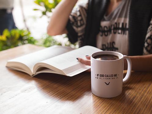 If God... I Can Do It Coffee Mug