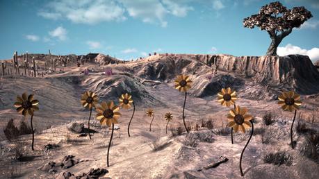 Cybernetic Desert Bloom Still Image