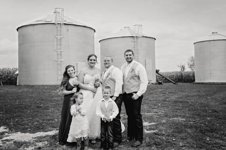 Rustic Wedding Iroquois IL