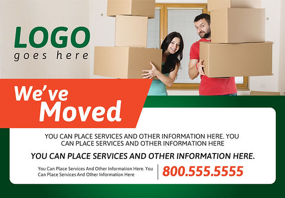 """MoverPostcard """"Moving Services"""""""
