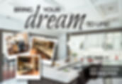 "Home Remodeling Postcard ""Dream to Life"""