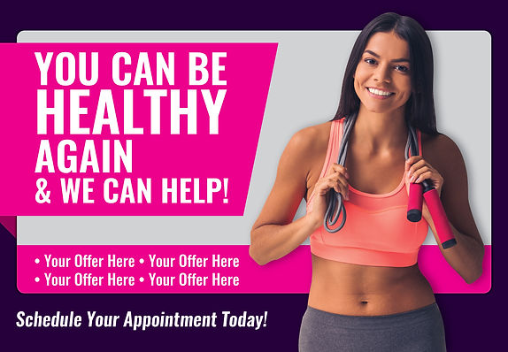 "Physical Therapy Postcard ""Be Healthy Again"""