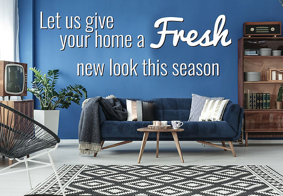 "Interior DesignPostcard ""Fresh New Look"""
