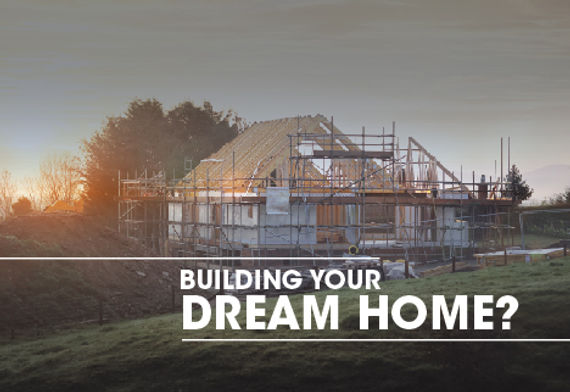 """Mortgage Agent and Company Postcard """"Dream Home"""""""