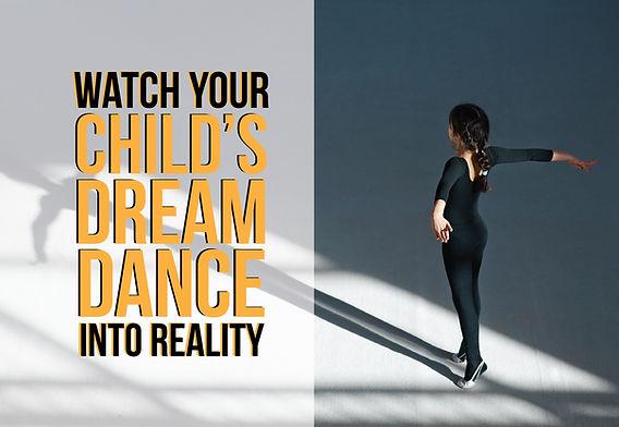 """Dance and Gymnastics Postcard """"Dance into Reality"""""""