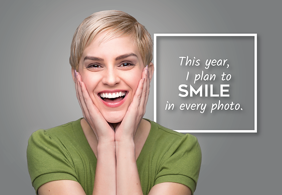 """Dental and DentistPostcard""""Smile in Every Photo"""""""