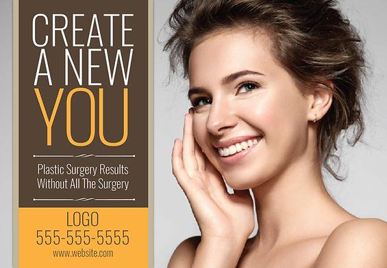 "Medical Spa Postcard ""New You"""
