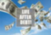 """Debt Relief Postcard """"Life After Debt"""""""