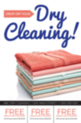 """Dry CleaningPostcard """"Dry Cleaning Coupons"""""""