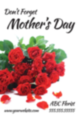 "Florist Postcard ""Mother's Day"""