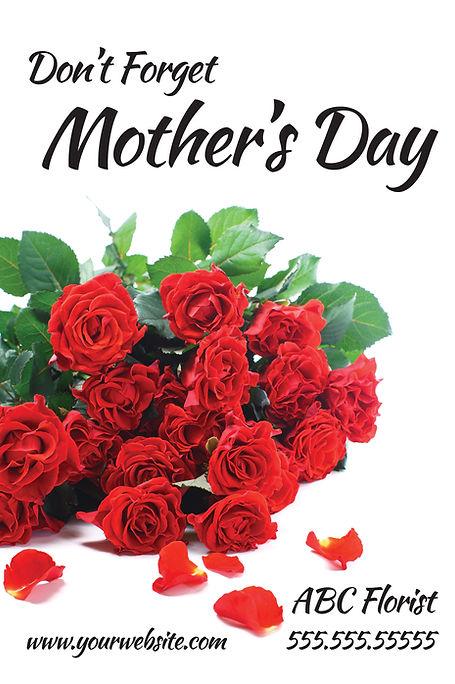 "Florist Postcard ""Mother's Day"""