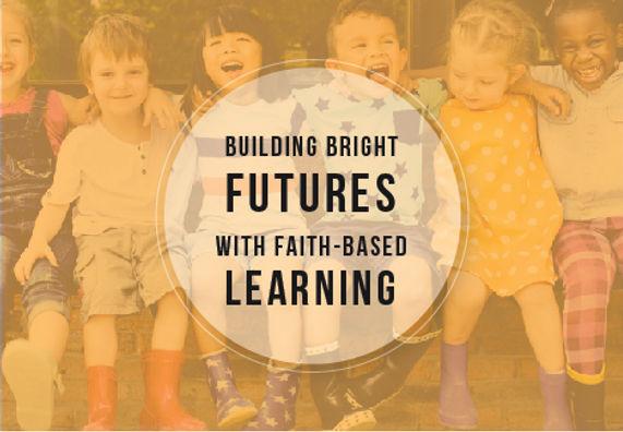 "Private School Postcard ""Building Bright Futures"""