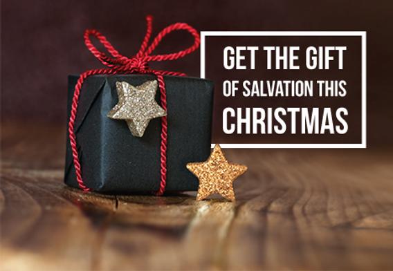 "Church Postcard ""Gift of Salvation"""