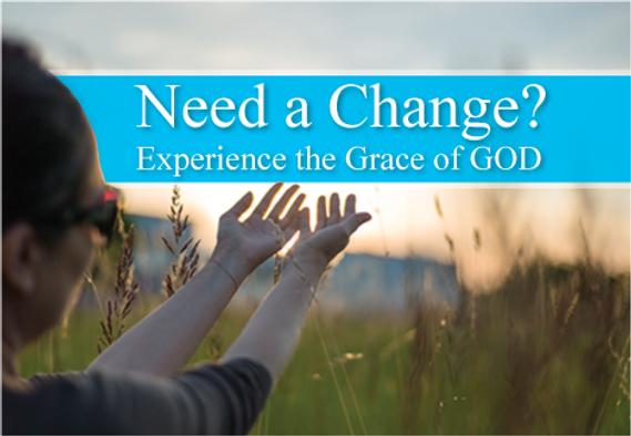 "Church Postcard ""Experience the Grace of God"""