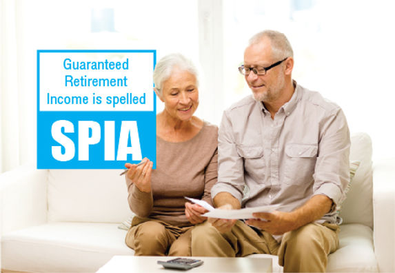 """Financial Planning and ManagementPostcard """"Guaranteed Retirement Income"""""""