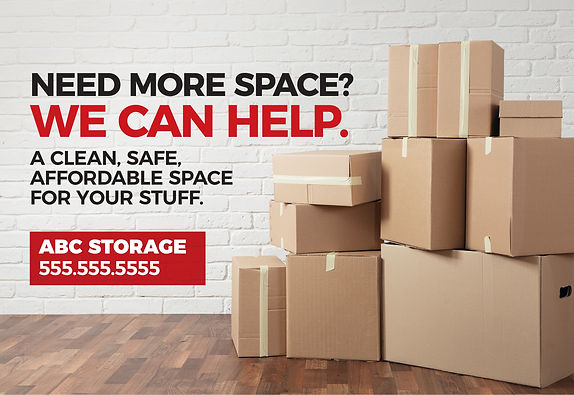 "Moving and Storage Postcard ""We Can Help"""