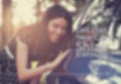 "Auto Detailing Postcard ""New Car Shine"""