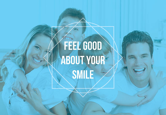 """Dental and DentistPostcard """"Feel Good about Your Smile"""""""
